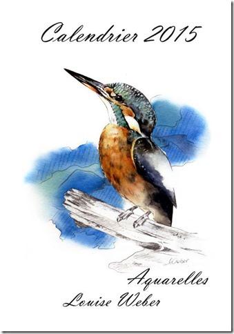 Calendrier Aquarelles Animalières Louise Weber