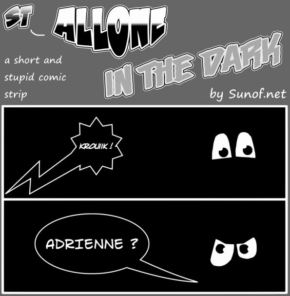 Sylvester alone in the dark_sunof.net